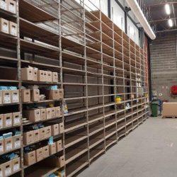 Stockage carton